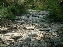 torrente seccato dalla TAV in Mugello
