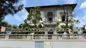 La ex-sede del Credito Cooperativo fiorentino, viale Belfiore, Firenze
